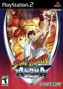 Street Fighter Alpha Anthology - PS2 Game