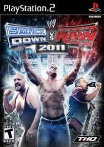WWE Smackdown Vs. Raw 2011 - PS2 Game