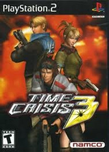 Time Crisis 3 - PS2 Game