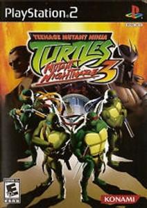 Teenage Mutant Ninja Turtles 3 - PS2 Game
