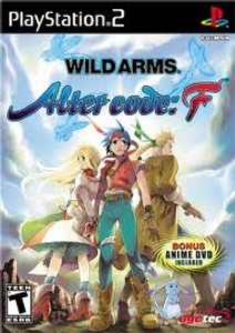 Wild Arms Alter Code F - PS2 Game