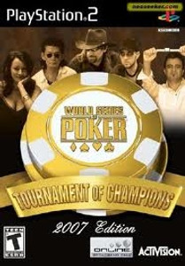 World Series Poker 2007 - PS2 Game