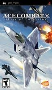 Ace Combat X Skies of Deception -  PSP Game