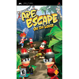 Ape Escape On The Loose - PSP Game