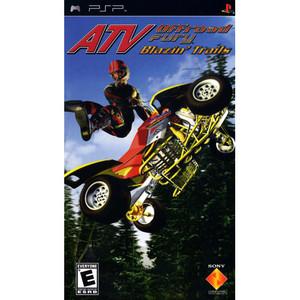 ATV Offroad Fury Blazin' Trail - PSP Game