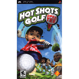 Hot Shots Golf Open Tee -  PSP Game