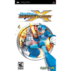 Mega Man Maverick Hunter X - PSP Game