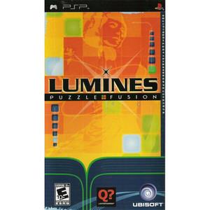 Lumines Puzzle Fusion - PSP Game