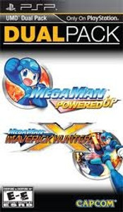 Mega Man Dual Pack (Gamestop Exclusive) -  PSP Game