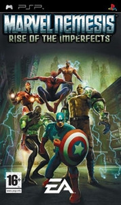 Marvel Nemesis Rise Of The Imperfects - PSP Game