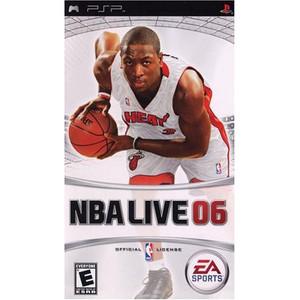 NBA Live 06 - PSP Game