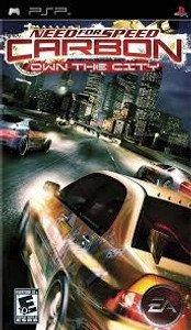 Need For Speed Carbon Own the City - PSP Game
