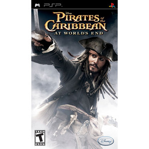Pirates of the Caribbean Worlds End - PSP Game