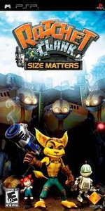 Ratchet & Clank Size Matters - PSP Game