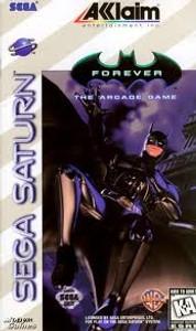 Batman Forever - Saturn Game