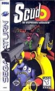 Scud - Sega Saturn Game