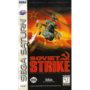 Soviet Strike - Saturn Game
