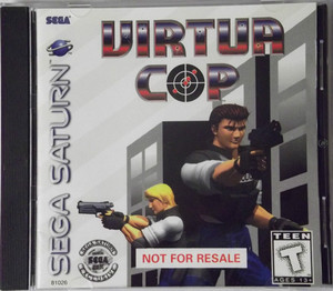 Virtua Cop - Saturn Game