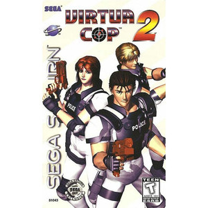 Virtua Cop 2 Sega Saturn game for sale.