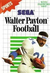 Walter Payton Football - Sega Master System Game