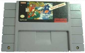 Not For Resale Super Mario World 2 Yoshi's Island - SNES Game