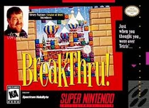 BreakThru! - SNES Game