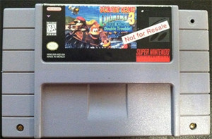 Not For Resale Donkey Kong Country 3 - SNES Game