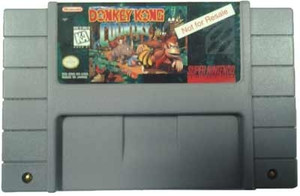 Demo Only Donkey Kong Country - SNES Game