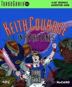 Complete Keith Courage In Alpha Zones - Turbo Grafx 16 Game