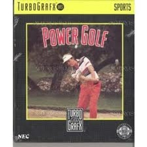 Complete Power Golf - Turbo Grafx 16 Game