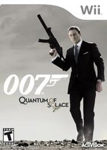 007 Quantum of Solace - Wii Game