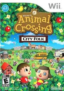 Animal Crossing City Folk - Wii Game