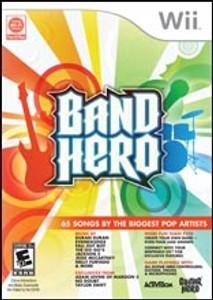 Band Hero - Wii Game