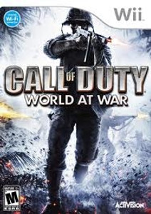 Call of Duty World At War - Wii Game