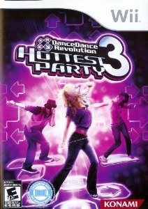 DDR Hottest Party 3 - Wii Game