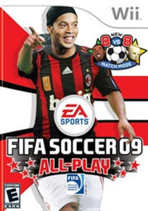 Fifa Soccer 09 - Wii Game