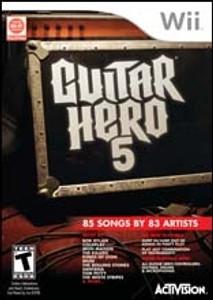 Guitar Hero 5 - Wii Game