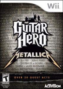 Guitar Hero Metallica - Wii Game