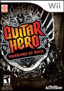Guitar Hero Warriors of Rock - Wii Game