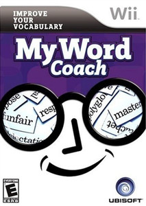 My Word Coach - Wii Game
