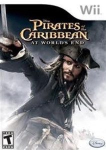 Pirates of the Caribbean at Worlds End - Wii Game