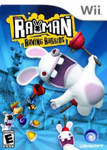 Rayman Raving Rabbids - Wii Game