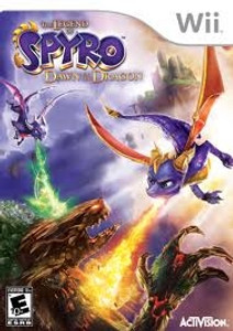 Legend of Spyro Dawn of the Dragons - Wii Game