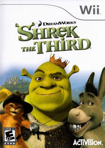 Shrek The Third - Wii Game