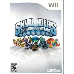 SkyLanders Spyro's Adventure Video Game For Nintendo Wii