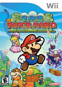 Super Paper Mario - Wii Game