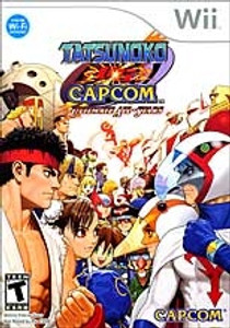 Tatsunoko VS Capcom - Wii Game