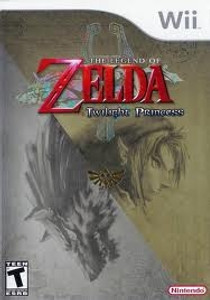 Legend of Zelda Twilight Princess - Wii Game