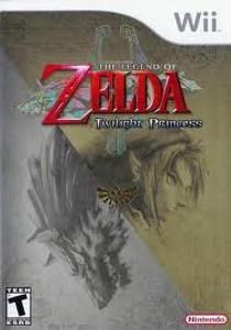 Legend of Zelda Twilight Princess - Wii Game