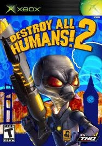 Destroy All Humans 2 - Xbox Game